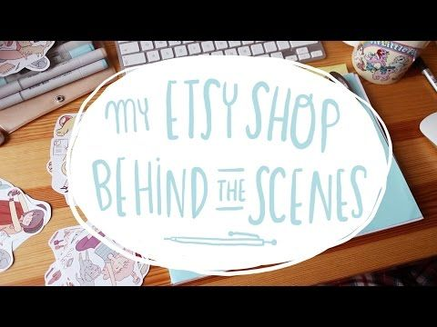 Crazy Fridays with My Etsy Shop ~ Frannerd - YouTube