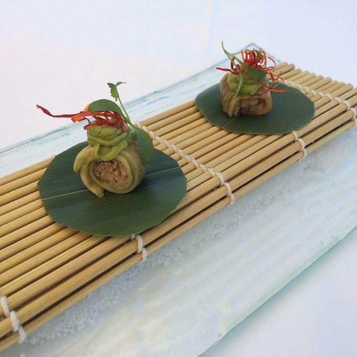 Cannellonis de abacate com recheio de caranguejo - #theyeatman #vilanovadegaia #estrelamichelin #restaurante by soentrenos