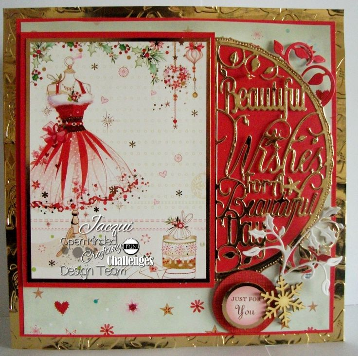 Handmade Christmas Cards With Dies