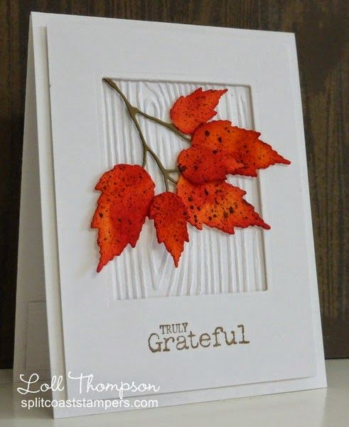 grateful card by Loll Thompson                                                                                                                                                     More