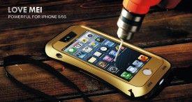 A melhor Capa a prova d'agua para o Iphone 5 e 5s está no Eagle Tech. Tenha a mais completa capa case para Iphone do mercado. Totalmente à prova d'agua, a prova de riscos, de choques,quedas e a prova de tudo, A capa Love Mei, além de incrivel está disponivel para Iphone 5c e Iphone 4 e 4s também.