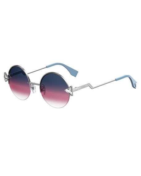 af572786429 Fendi Rainbow Round Sunglasses