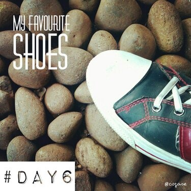 #30DaysChallenge Day 6: My Favourite Shoes by @Yoshie Adi