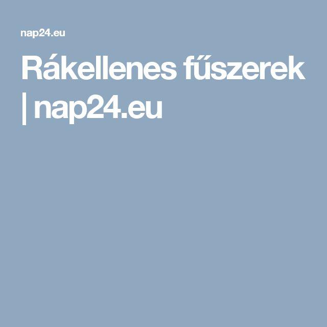 Rákellenes fűszerek | nap24.eu