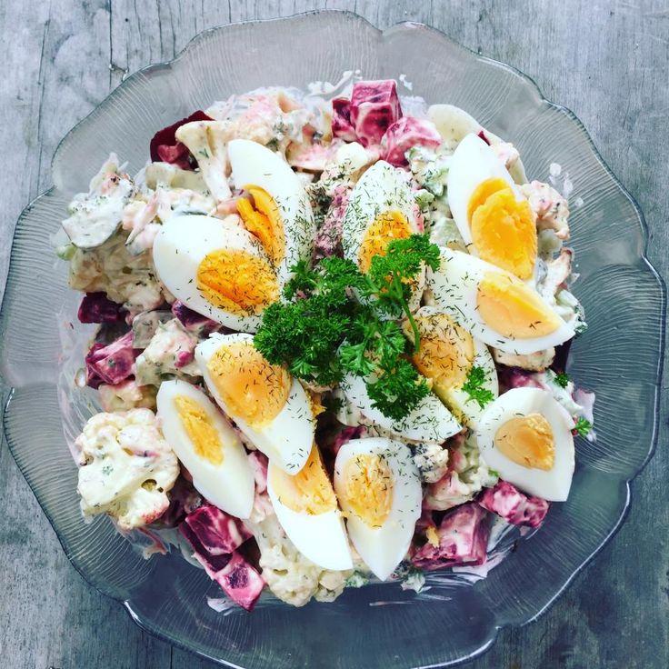 Russian no-tato salad
