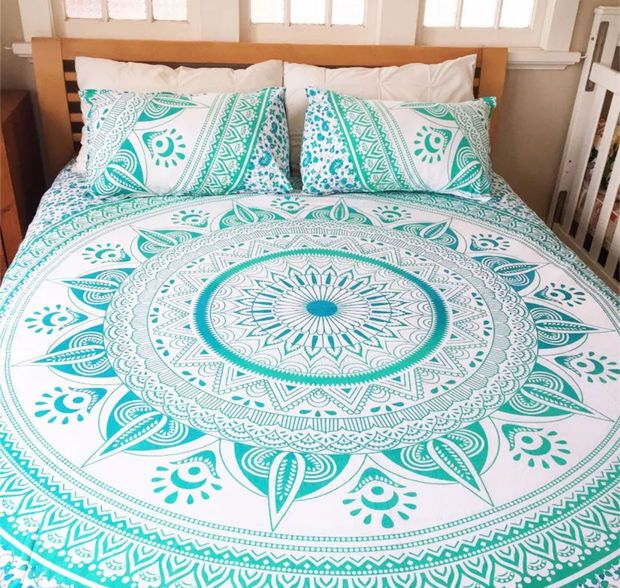 Mandala Queen Bed Cover