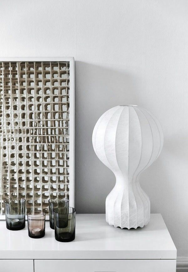 #Design #lamps for this black and white #house in #Copenhagen