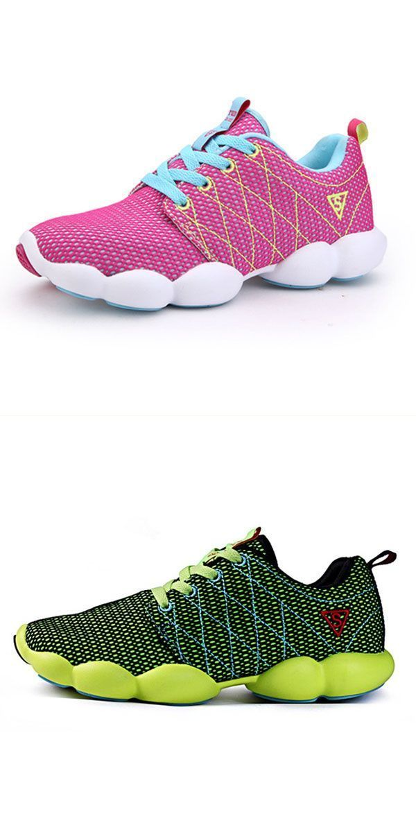 New women casual breathable mesh