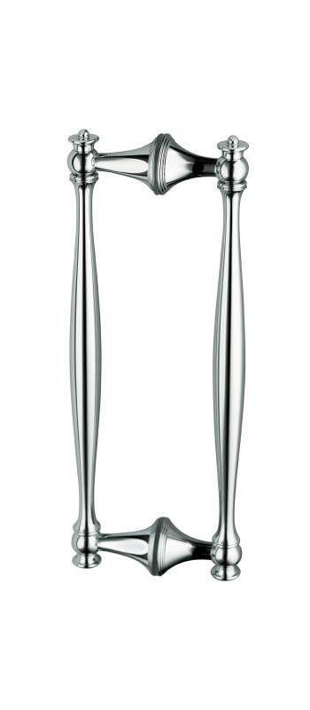 Kohler K-705769 Shower Door Handles from the Finial Collection Bright Polished Silver Showers Shower Doors Handle