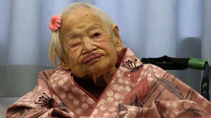 Misao Okawa is celebrating her birthday in Japan and says 117 years doesn't seem like such a long time.