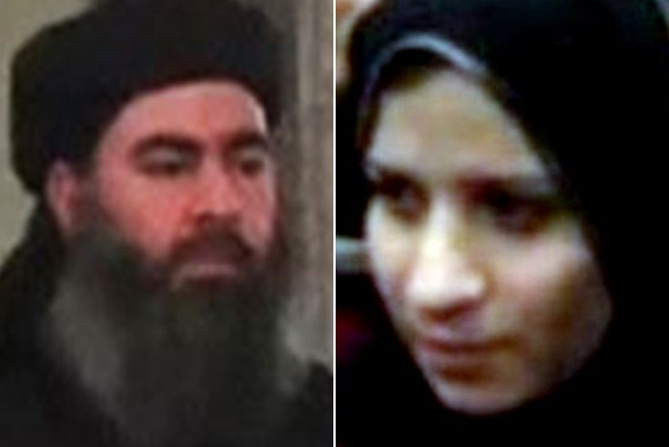 Saga al-Dulmaimi married al-Baghdadi in 2008 when he was a university lecturer and they have a daughter
