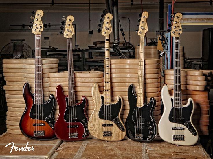 fender jazz bass guitars