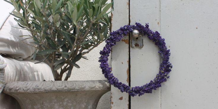 LAVENDELKRANS - Lavender-wreath