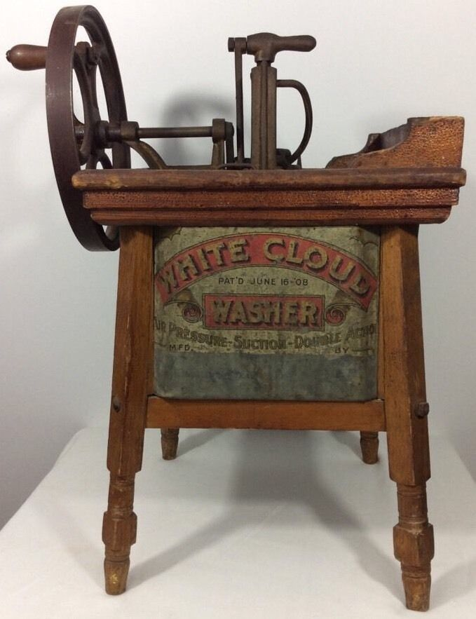 White Cloud Washer Salesman Sample June 16 1908 Miniature Working #Country #whitecloud