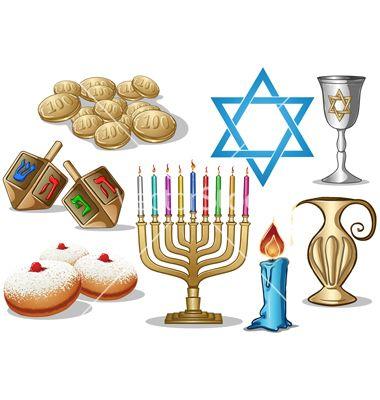 Hanukkah symbols pack vector 1043133 - by LironPeer on VectorStock�