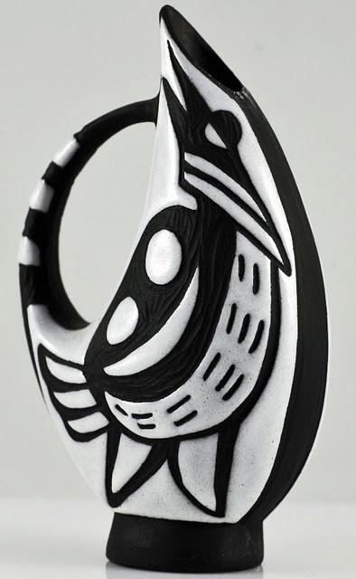 "designed by Marianne Starck for Michael Andersen ""Negro"" range, 1950s"