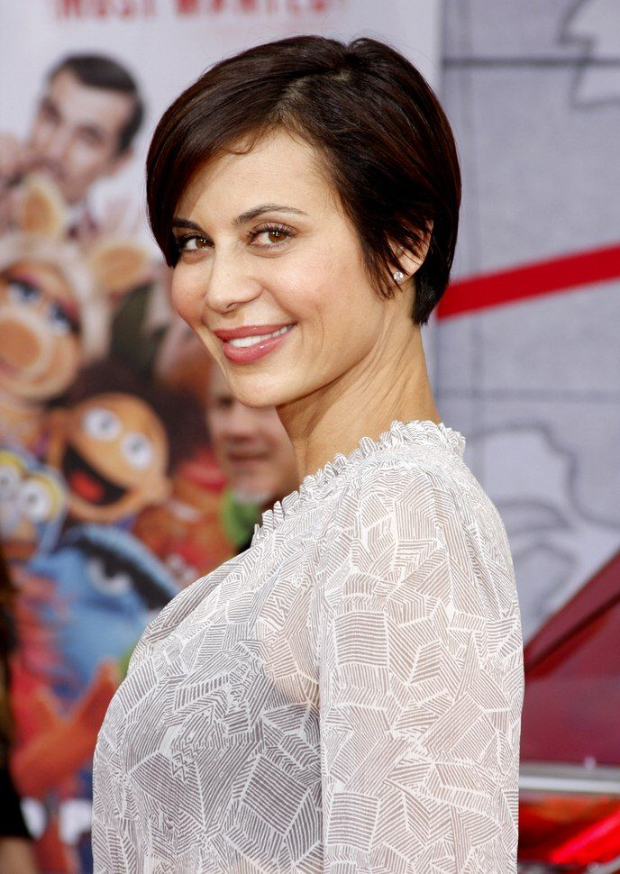 Catherine Bell Short Haircut : catherine, short, haircut