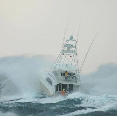 "Bertram Yachts #Outperform in any conditions- 60' ""Deja Blue"" #sportfishing #boating"