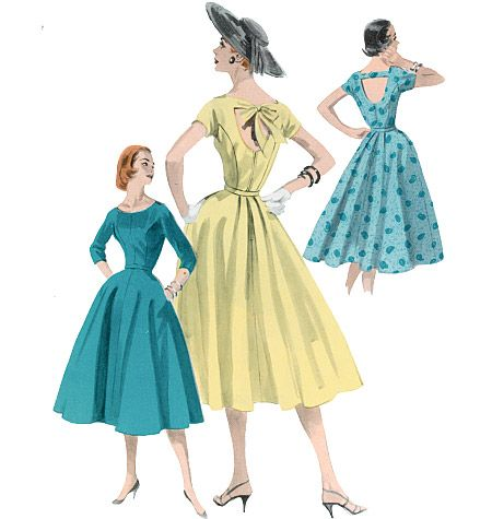dress patterns? these are cute, theres a place called rudas that i could check with to see if they do more than alterations...: Vintage Wardrobe, Vintage Sewing, Butterick Patterns, Vintage Patterns, 1950, Butterick 5605, 50S Dresses, Dresses Patterns, Dresses Sewing Patterns