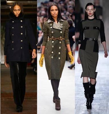 2012 Fall Fashion Trend #7 - Military-Inspired Fashion