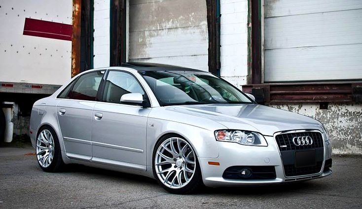 Audi B7 S4 with MiRO TYPE 111 wheels. 18x9.5 ET40.