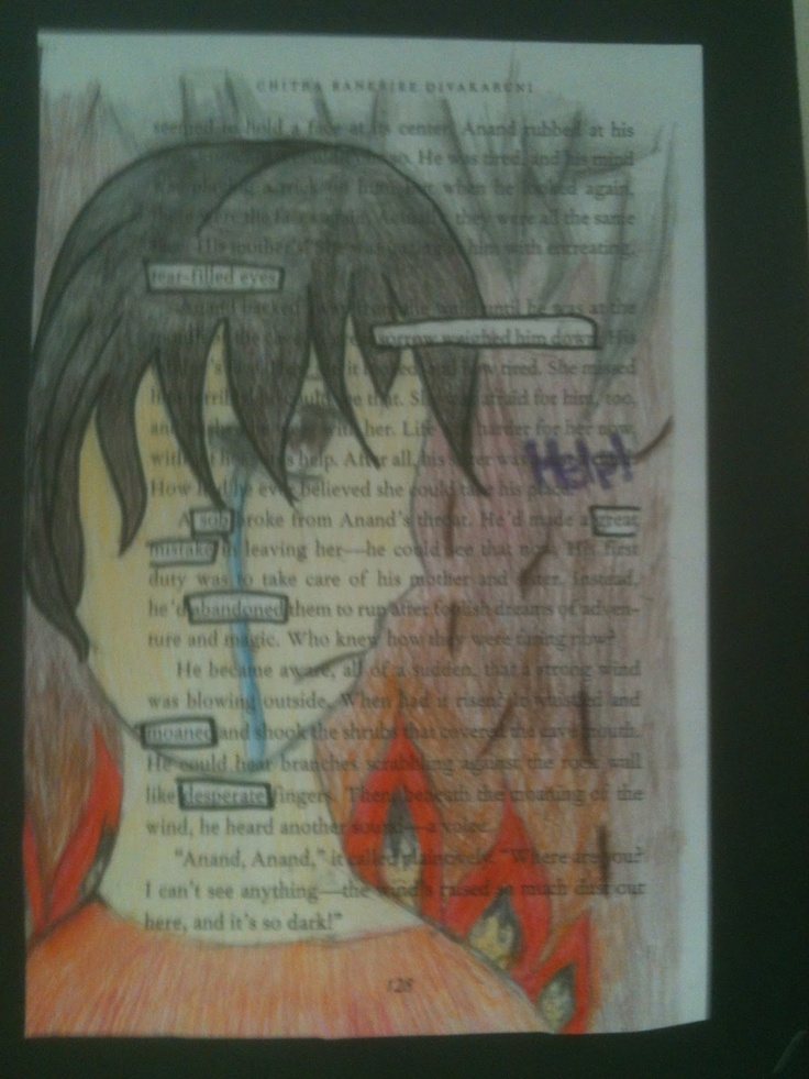 GREAT IDEA!!! Tone-- have them copy a page from a novel, highlight tone words, then turn it into a piece of art