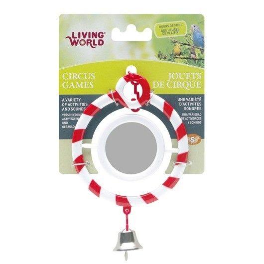 Juguete Circus Espejo LIVING WORLD - #FaunAnimal nuestras aves de compañía pueden soñar acerca de unirse al circo.