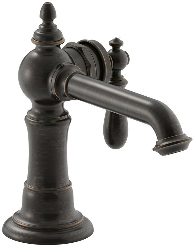 artifacts artifacts standard bathroom faucet double handle with drain assembly - Kohler Armaturen L Eingerieben Bronze