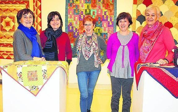 Integrantes del grupo de patchwork.