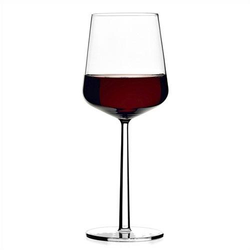 iitala essence red wine glasses