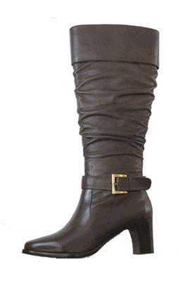 Women s Cruise Boot - Wide Calf (Brown) - Clearance/Final Sale Boots