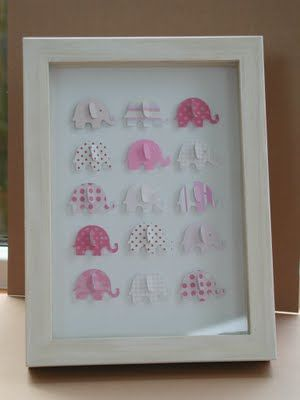 One of mine made with Martha Stewart Elephant punch. Meg you could so do this. You have the punch b