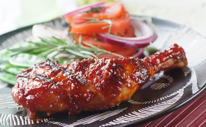 Make your own home-made marinade for your next chicken barbecue. It's sweet, sticky and delicious!