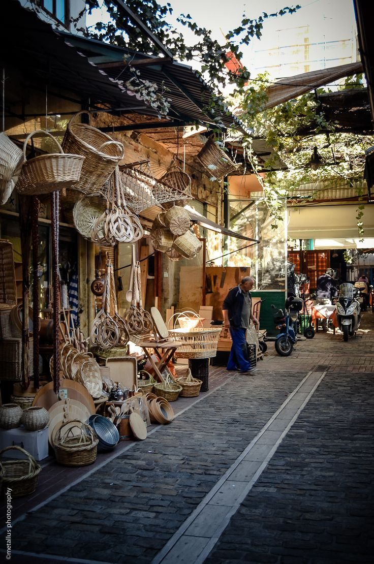 Market in Thessaloniki