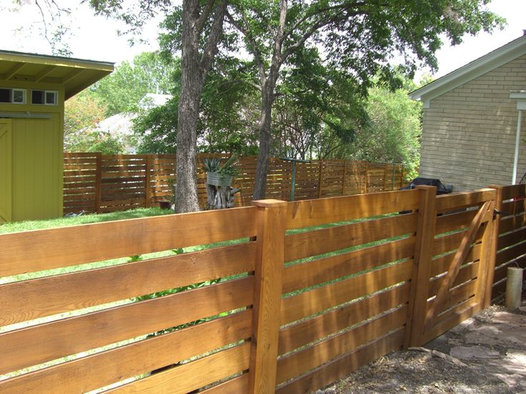 39 best Fence Board images on Pinterest | Horizontal fence ...
