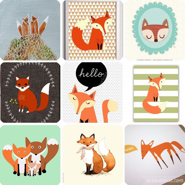 Carissa Miss: Etsy Faves: Foxes