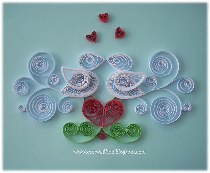 Crea Quilling : St. Valentine's day