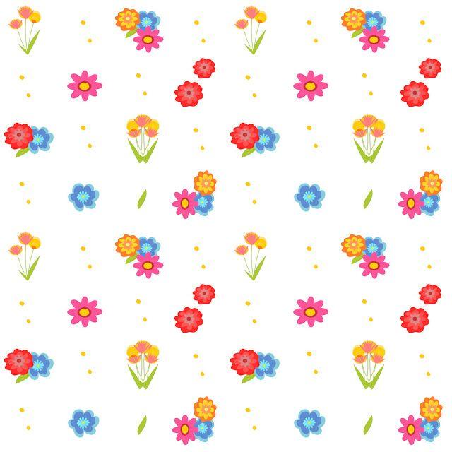 Free digital floral scrapbooking paper - ausdruckbares Geschenkpapier - freebie   MeinLilaPark