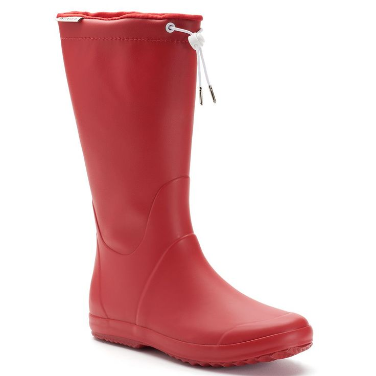 Tretorn Viken Women's Waterproof Rain Boots, Size: medium (10), Red