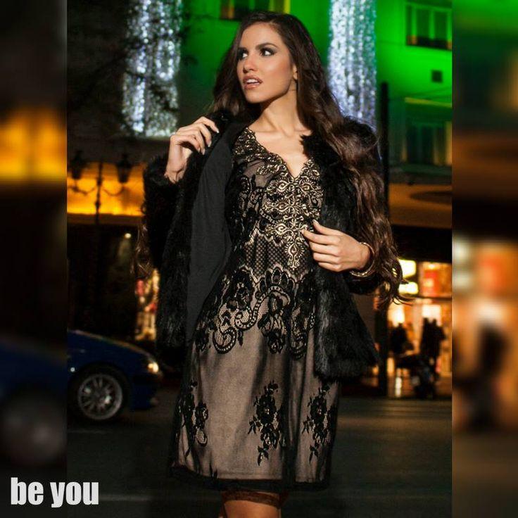 For special day, Special Dress ft. Eutuxia Lazarou φόρεμα > https://goo.gl/vadQfD  #lace #minidress #xmas #partyseason #beyoucomgr