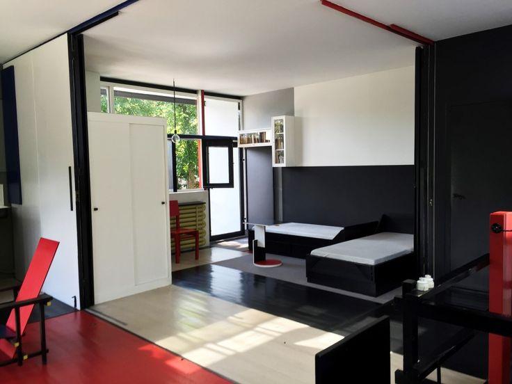 Rietveld Schroder House Interior