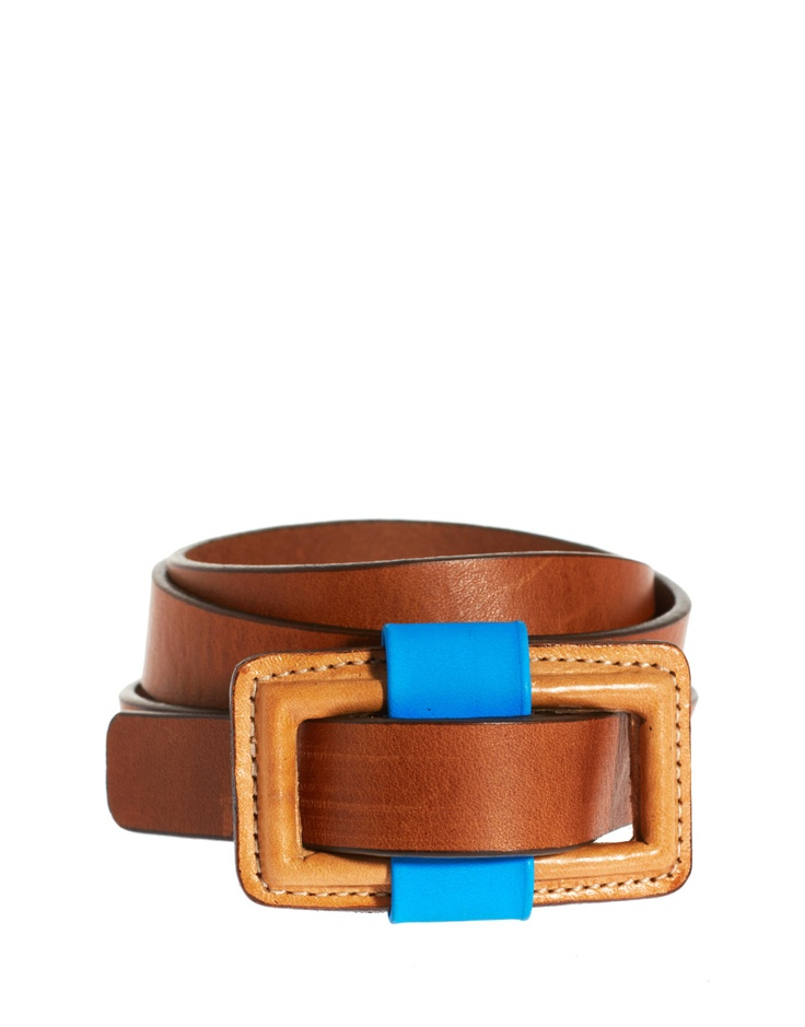 belt with blue: Blue Accent, Colour Pop, Beautiful Belts, Brown Belts, Dorena Belts, Accoutrement, Whistl Belts, Baby, Accesories