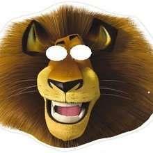 Alex the lion Mask craft.