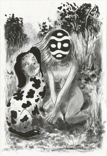 untitled (dog&mask)