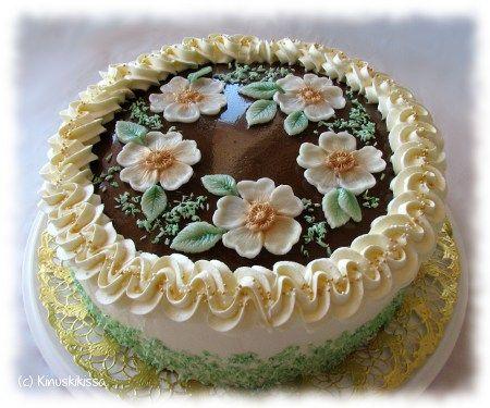 Juhannusmorsiamen kakku   Reseptit   Kinuskikissa