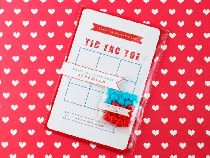 Make: Tic Tac Toe Valentines Printable