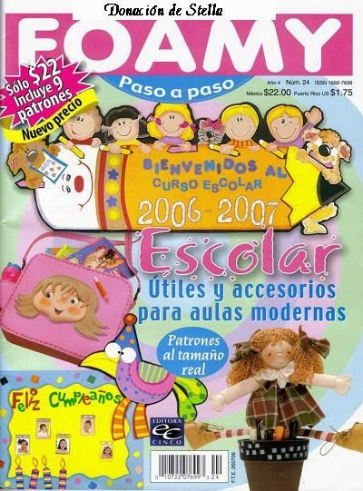 Revista foamy escolar
