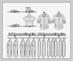 SYSLINE - retail solution - Soportes en Pared - Buttonhole H