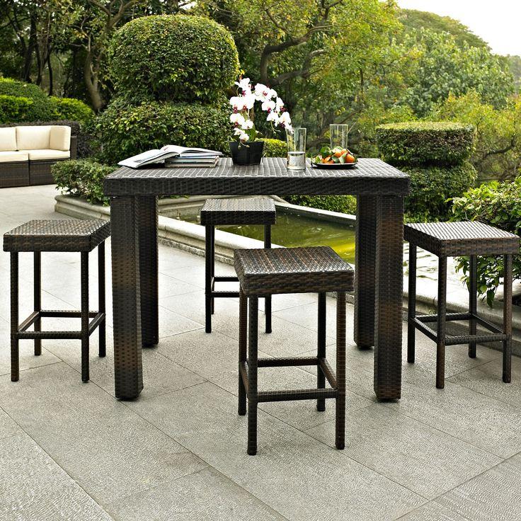 Crosley Palm Harbor 5 Piece Bar Height Dining Set U0026 Reviews | Wayfair.  Furniture DecorPatio ...