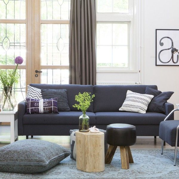 3 sitzer sofa noa lounge couch garnitur couchgarnitur sofagarnitur anthrazit sofa co. Black Bedroom Furniture Sets. Home Design Ideas